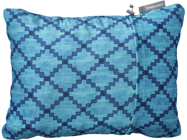 Therm-a-Rest Compressible Coussin L, blue heather